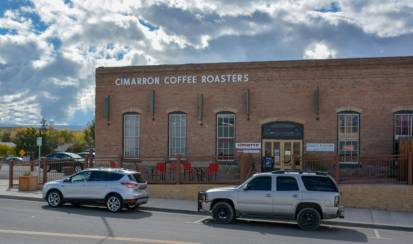 Cimarron Coffee Roasters, Montrose CO has Elevate Internet