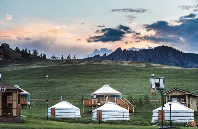 Colorado Yurts in the Mountains
