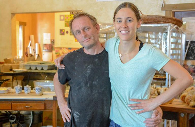 Olivia and Chris, Paonia Business Owners